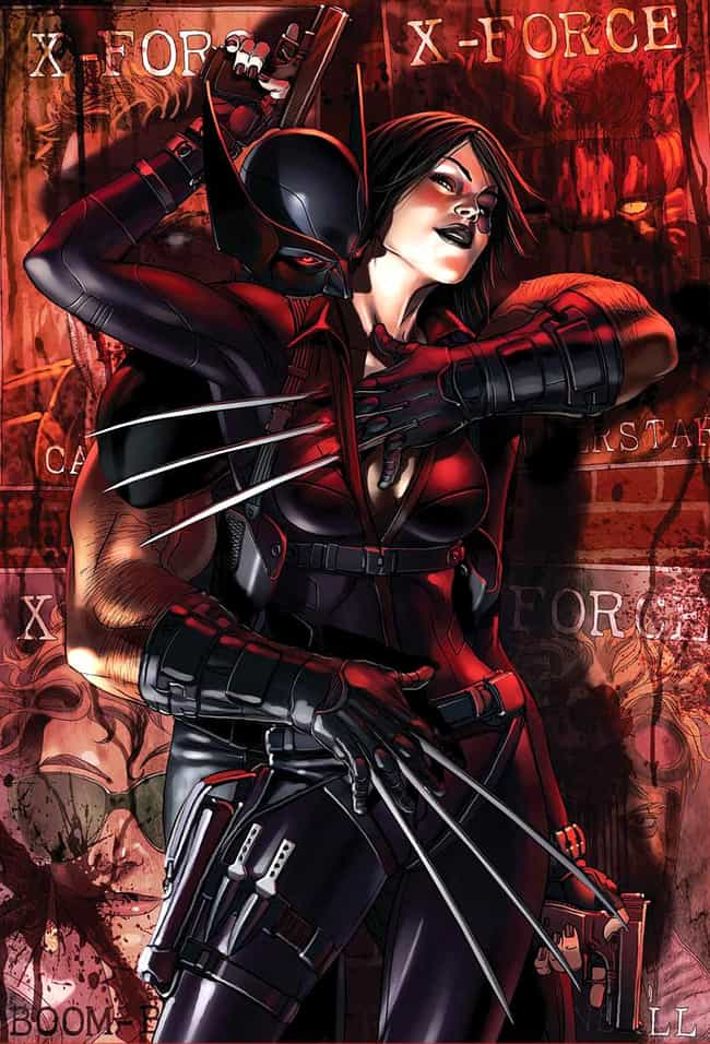 Domino is listed (or ranked) 4 on the list Wolverine's Long List of Lovers
