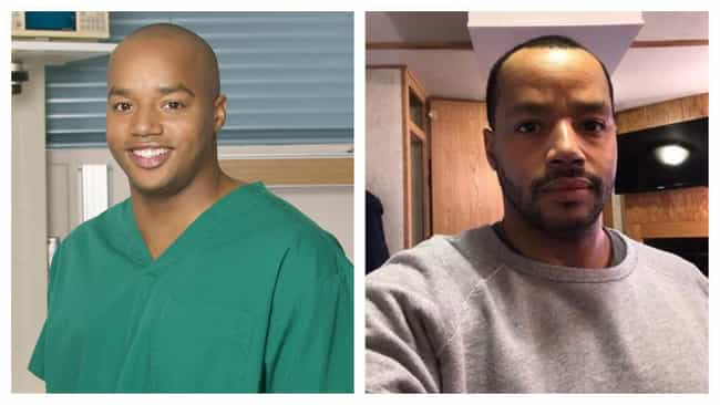 Donald Faison is listed (or ranked) 3 on the list The Cast Of 'Scrubs': Where Are They Now?