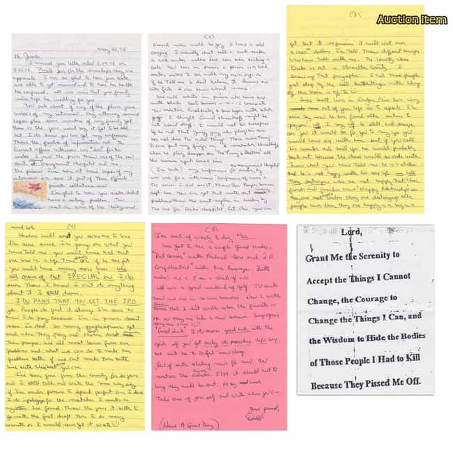 Donald Harvey is listed (or ranked) 2 on the list The Most Insane Letters From Serial Killers
