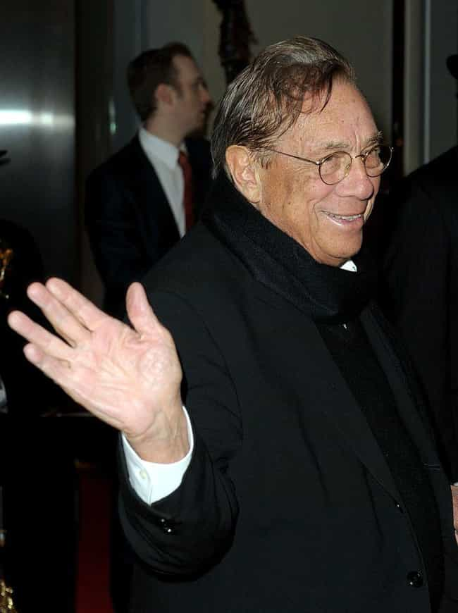 Donald Sterling is listed (or ranked) 8 on the list These Celebrities Have Been Caught Being More Than Just A Little Racist