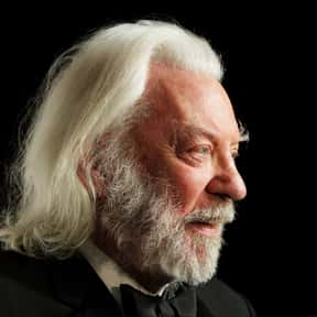 Donald Sutherland is listed (or ranked) 24 on the list Famous People Most Likely to Live to 100