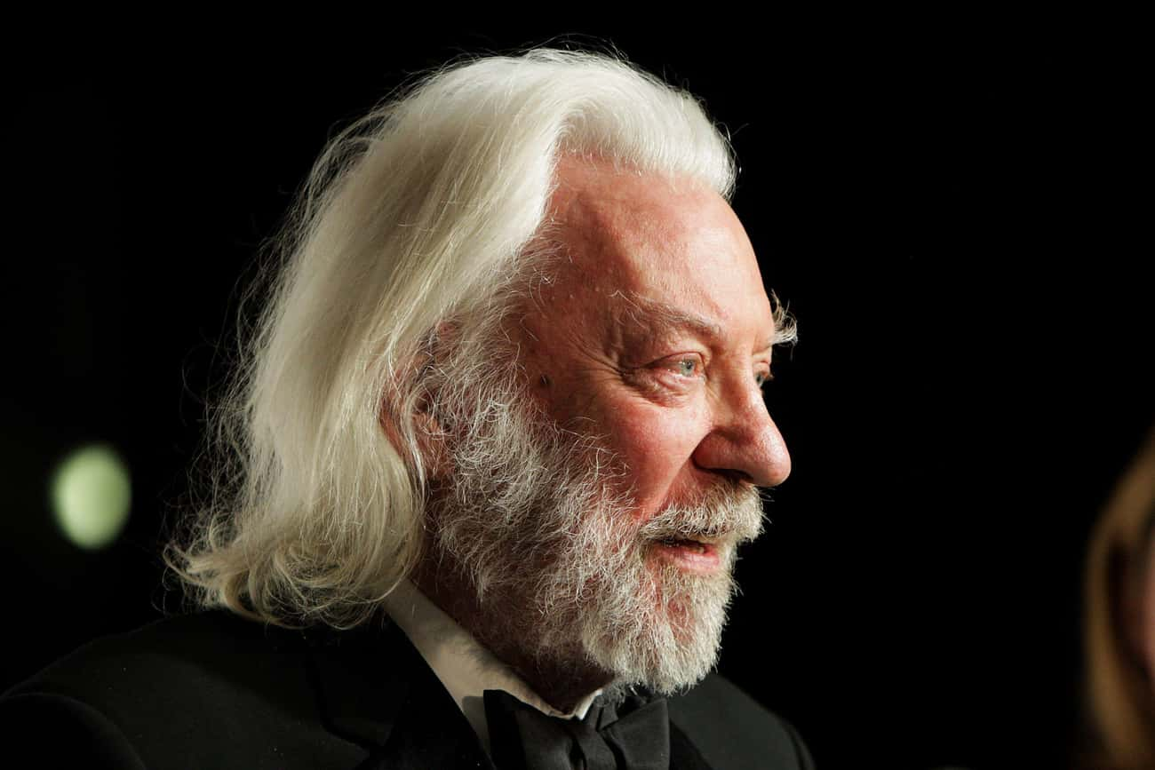 Donald Sutherland is listed (or ranked) 2 on the list Famous People Born in 1935