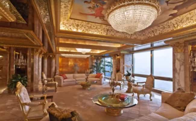 Donald Trump is listed (or ranked) 2 on the list Celebrities Who Have Way More Giant Houses Than They Need