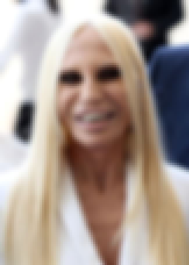 Donatella Versace is listed (or ranked) 6 on the list Celebrities Who Went to The Meadows Rehab