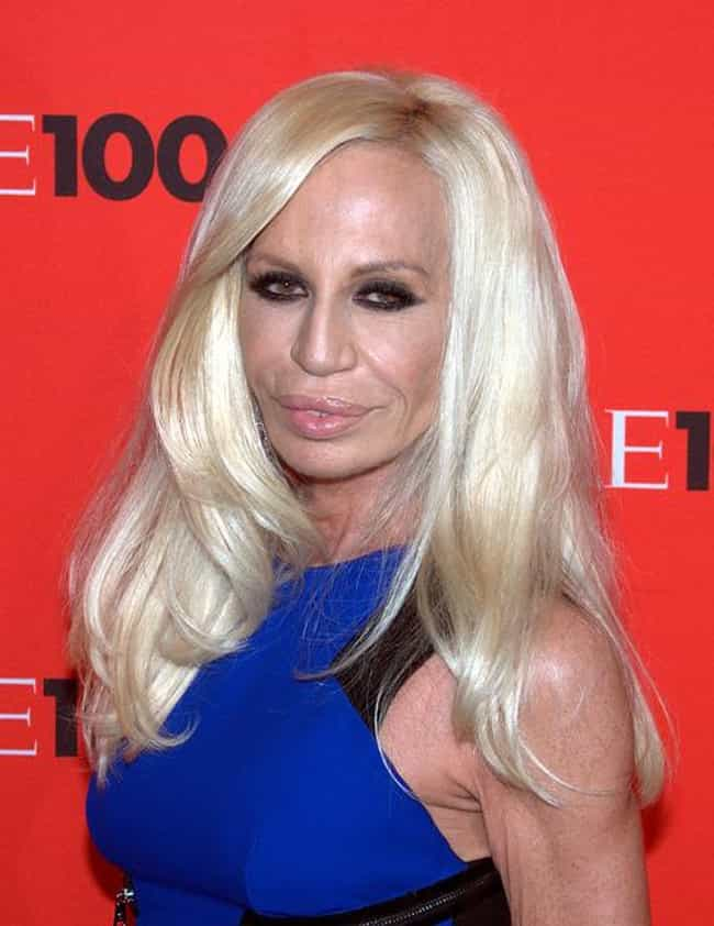 Donatella Versace is listed (or ranked) 4 on the list Famous Fashion Designers from Italy
