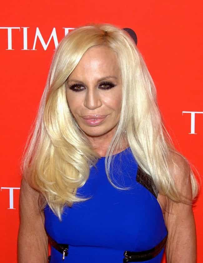 Donatella Versace is listed (or ranked) 6 on the list Celebrities Who Live in Italy