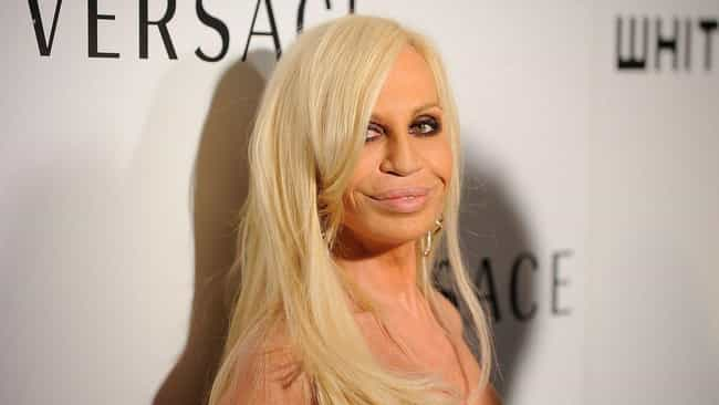 Donatella Versace is listed (or ranked) 4 on the list 20 Celebs Who Lost Their Sex Appeal After Plastic Surgery
