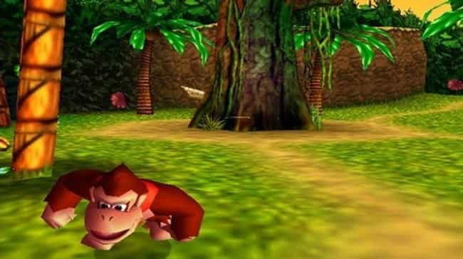 Donkey Kong 64 is listed (or ranked) 4 on the list 13 Classic Video Games That Unfortunately Haven't Aged Well