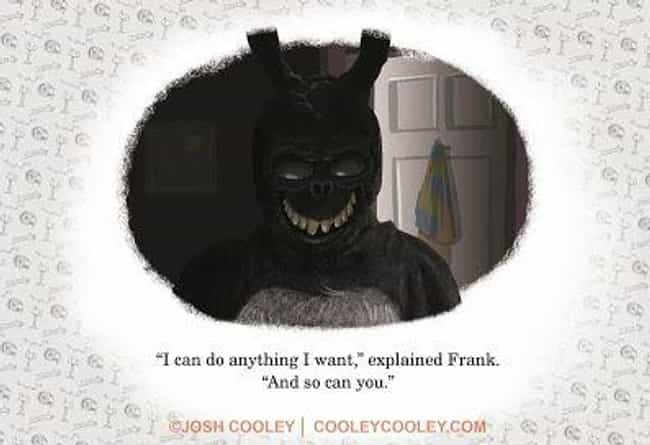 Donnie Darko is listed (or ranked) 7 on the list An Artist From Pixar Transforms Your Favorite Horror Movies Into Kids' Books