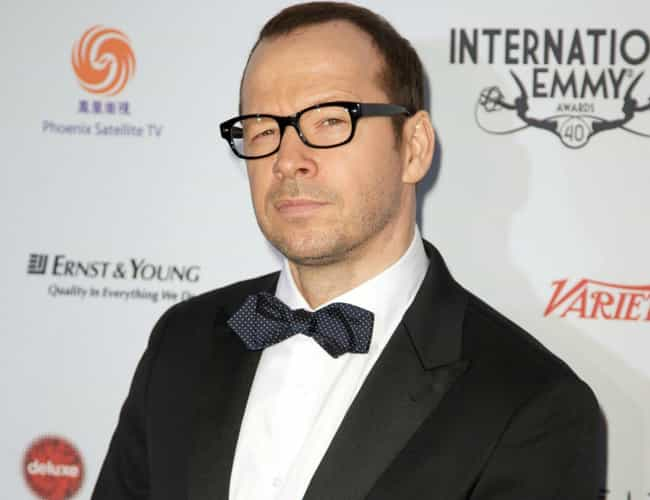 Donnie Wahlberg is listed (or ranked) 2 on the list '90s Boy Band Members Then and Now