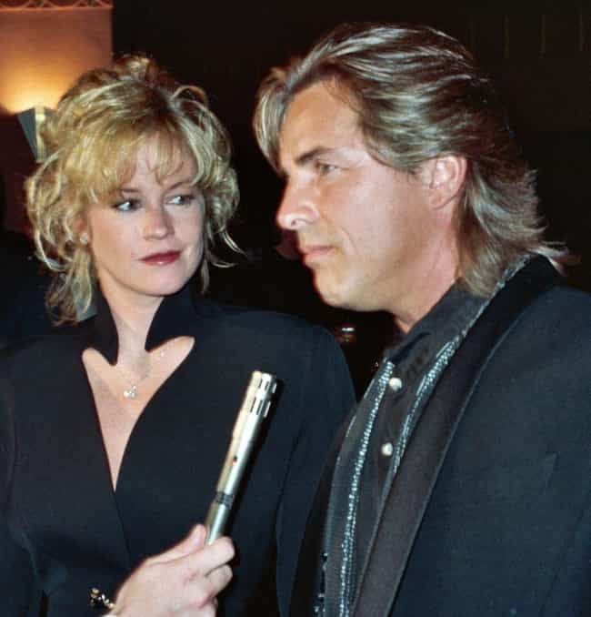 Don Johnson is listed (or ranked) 3 on the list Melanie Griffith Loves and Hookups