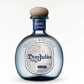Don Julio is listed (or ranked) 1 on the list Tequila Test