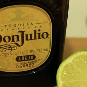 Don Julio is listed (or ranked) 6 on the list The Best Top Shelf Alcohol Brands