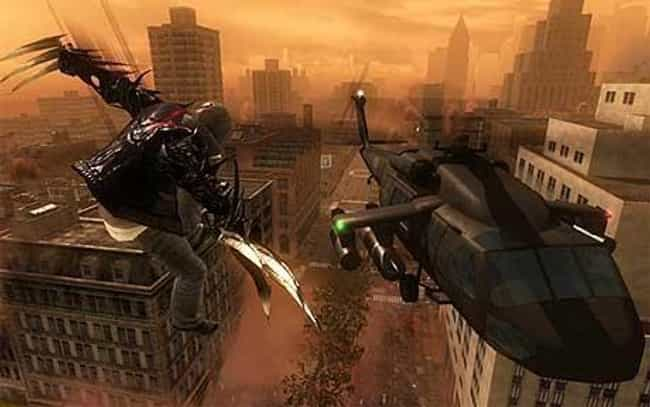Prototype is listed (or ranked) 3 on the list 17 Video Games Where You Actually Get To Play As The Villain