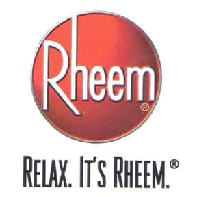 Rheem is listed (or ranked) 1 on the list The Best Water Heater Brands