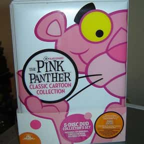 The Pink Panther is listed (or ranked) 21 on the list The Best Cartoons of All Time