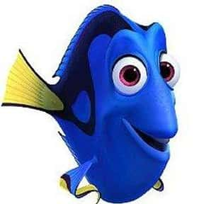 Dory is listed (or ranked) 11 on the list The All-Time Greatest Pixar Characters