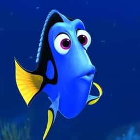 Dory is listed (or ranked) 16 on the list The Most Memorable Film Sidekicks Ever