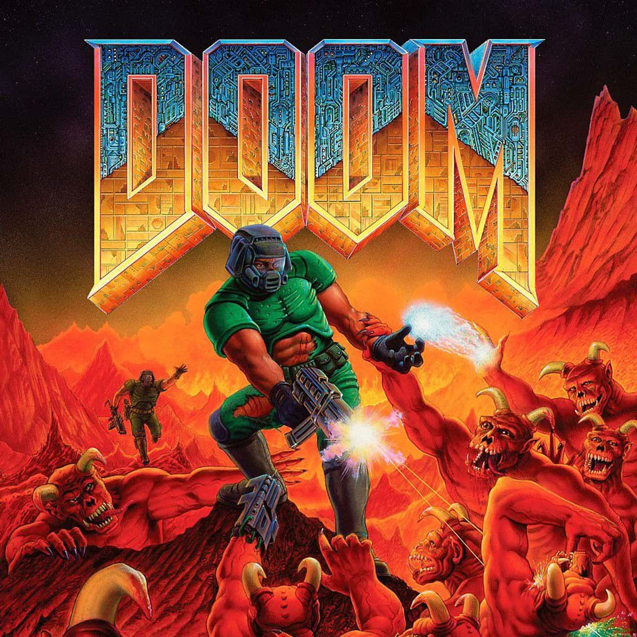 Doom is listed (or ranked) 3 on the list '90s Computer Games You Remember Playing in 3rd Grade