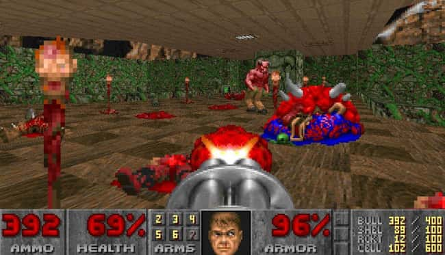 Doom is listed (or ranked) 12 on the list Most Controversial Video Games That Have Ever Been Released