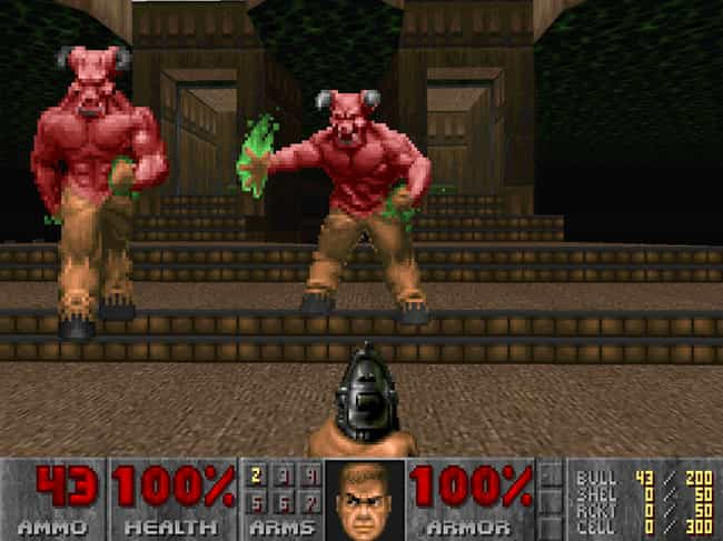 Doom is listed (or ranked) 3 on the list These Are The Video Games That All Other Video Games Copied