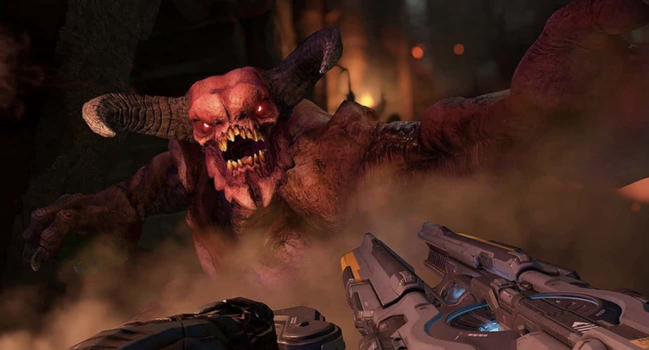 Doom is listed (or ranked) 1 on the list Video Games Set In Hell, Ranked By How Much The Devil Would Approve