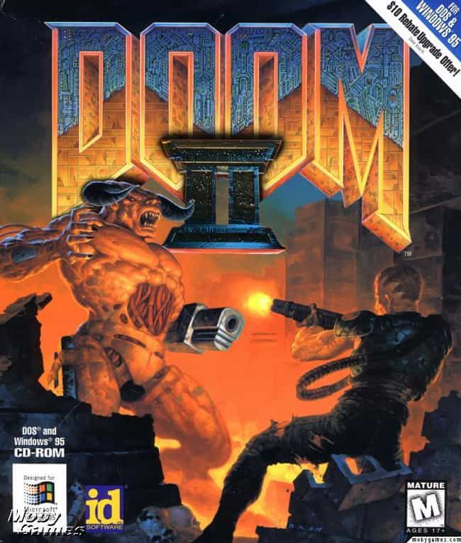 Doom II: Hell on Earth is listed (or ranked) 3 on the list The Best Doom Games