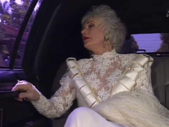 Dorothy Zbornak is listed (or ranked) 3 on the list The Worst TV And Movie Wedding Dresses