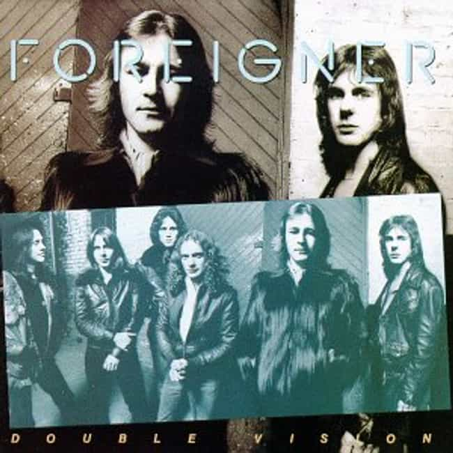 Double Vision is listed (or ranked) 2 on the list The Best Foreigner Albums of All Time