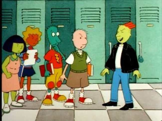 Doug is listed (or ranked) 4 on the list The Greatest Nick Cartoons from the '90s