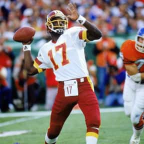 Doug Williams is listed (or ranked) 24 on the list The Greatest Washington Redskins of All Time