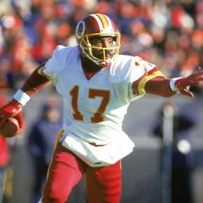 Doug Williams is listed (or ranked) 5 on the list The Best Washington Redskins Quarterbacks of All Time