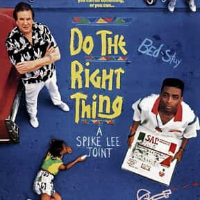 Do the Right Thing is listed (or ranked) 24 on the list The Best Hood Movies