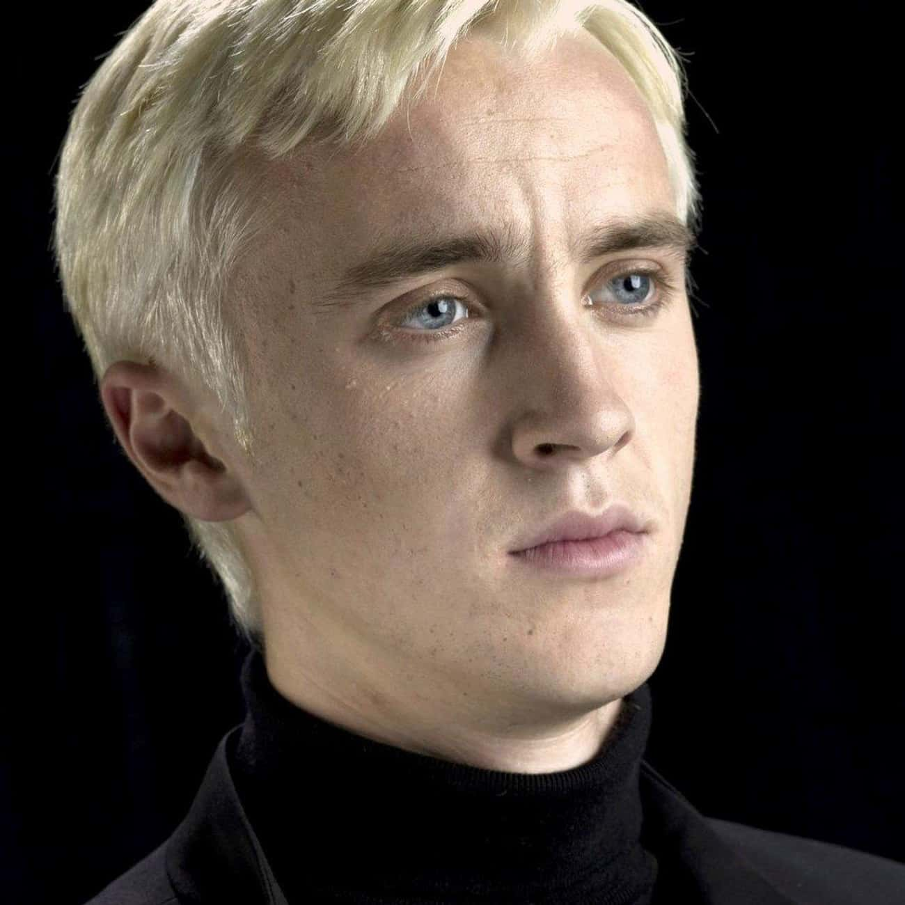 Draco Malfoy is listed (or ranked) 3 on the list The Best Members of Slytherin