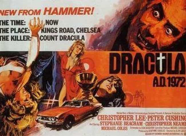 Dracula A.D.1972 is listed (or ranked) 4 on the list 14 Movies Tim Burton Has Given His Personal Stamp Of Approval