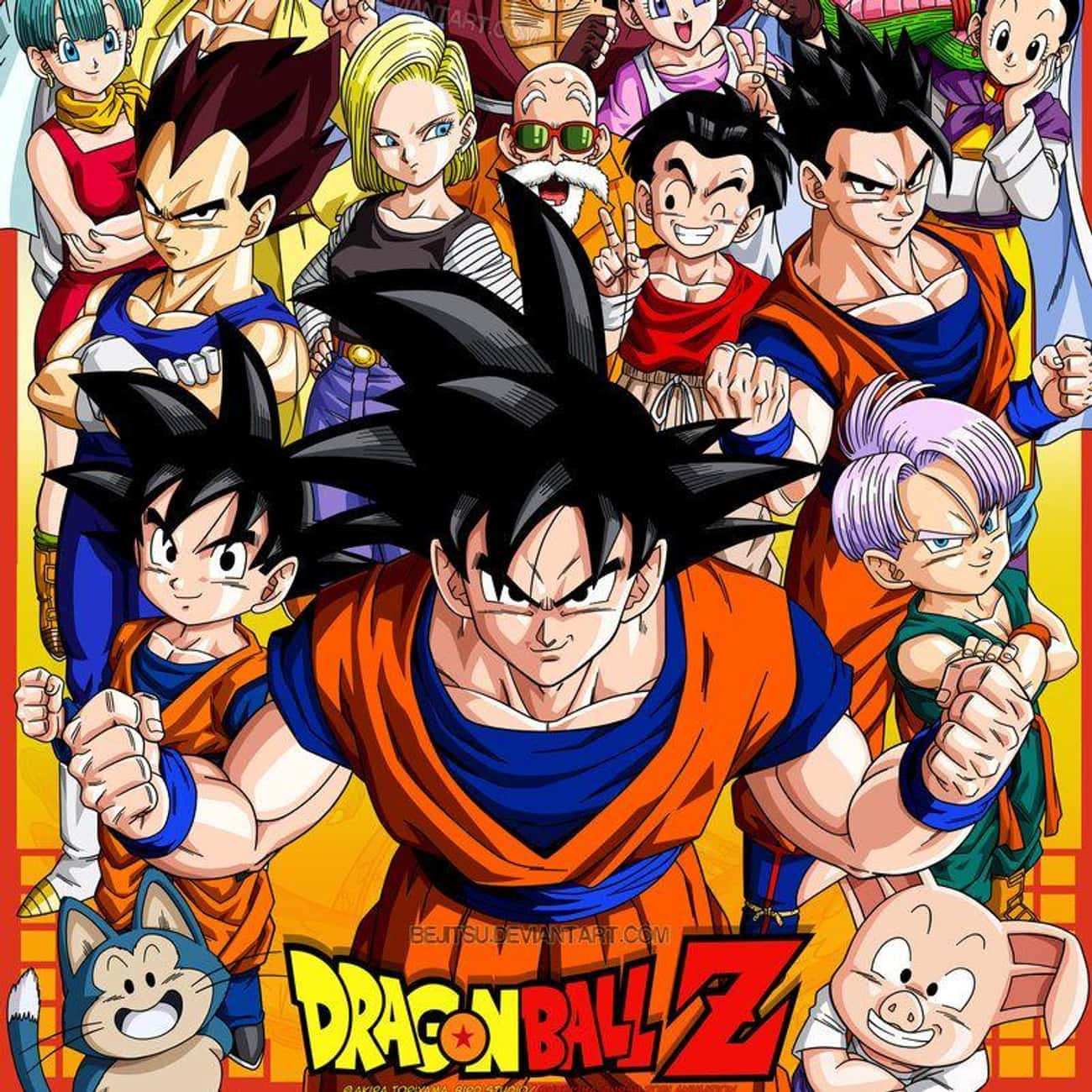 Dragon Ball Z is listed (or ranked) 4 on the list 16 Overrated Anime That Get Way More Credit Than They Deserve