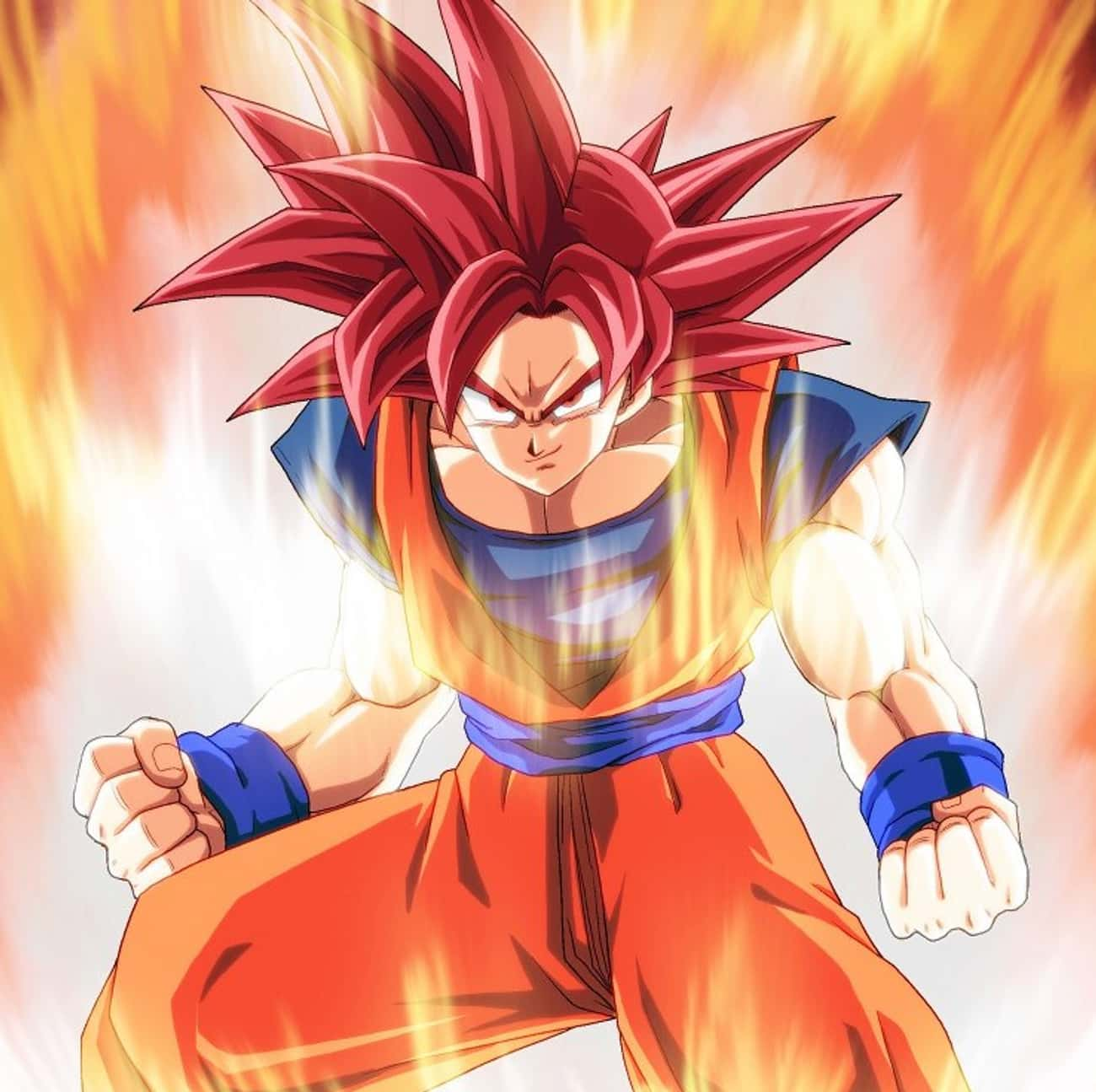 Super Saiyan  - Dragon Ball Z is listed (or ranked) 3 on the list The 25+ Anime Superpowers You Want Most
