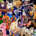 Dragon Ball Z is listed (or ranked) 6 on the list The Best Anime Series of All Time
