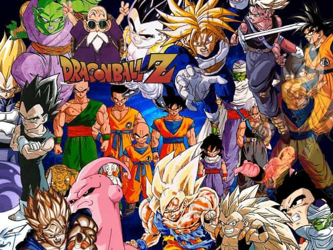 Dragon Ball Z is listed (or ranked) 3 on the list The Best Old School Anime From 1999 and Before