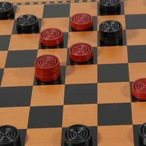 Checkers is listed (or ranked) 8 on the list The Best Board Games for Kids 7-12