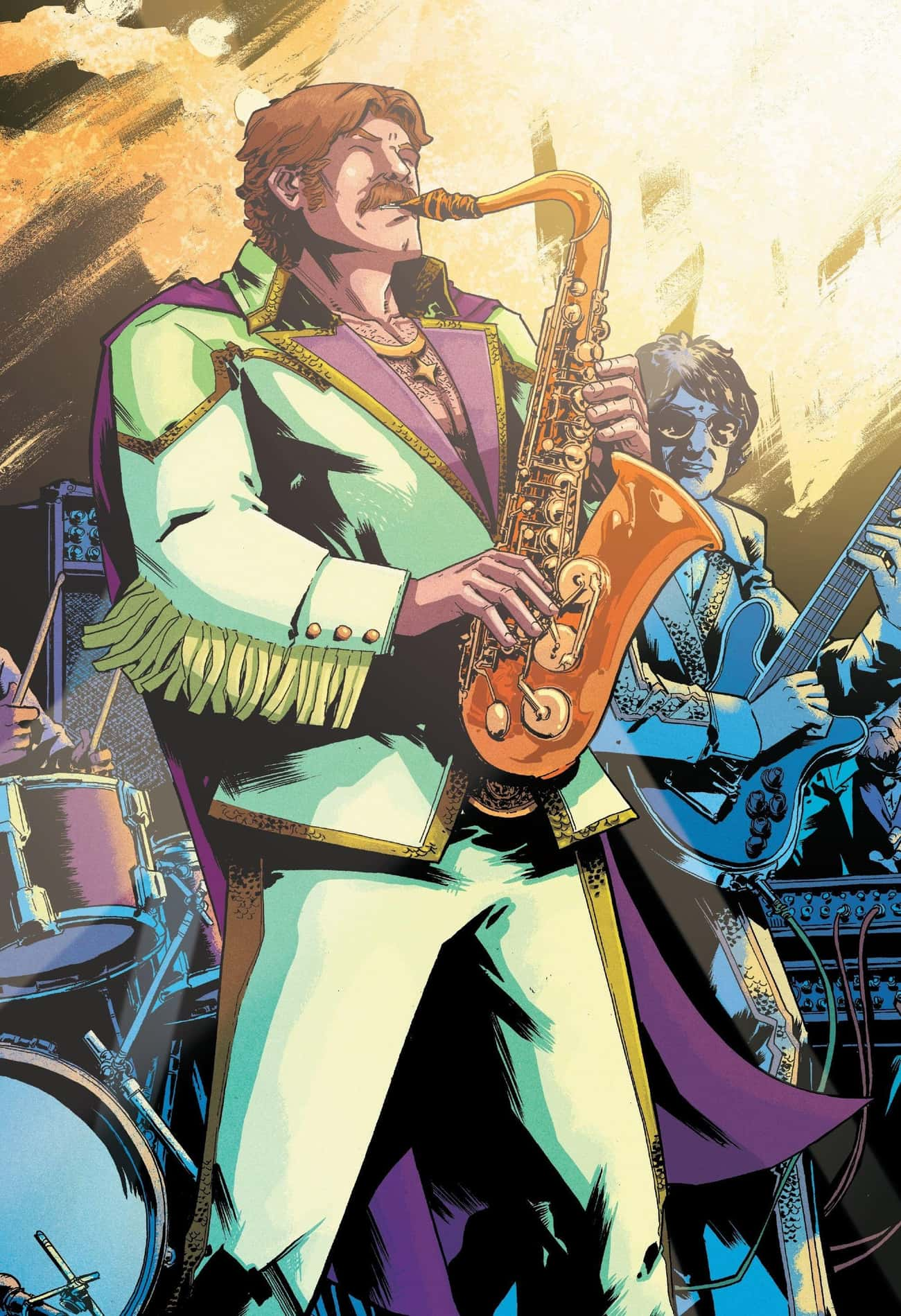 Drax Was A Human Saxophone Player Empowered To Take Cosmic Revenge On Thanos