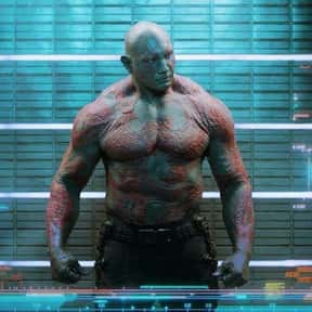 Drax the Destroyer is listed (or ranked) 21 on the list The Best Characters In The Marvel Cinematic Universe