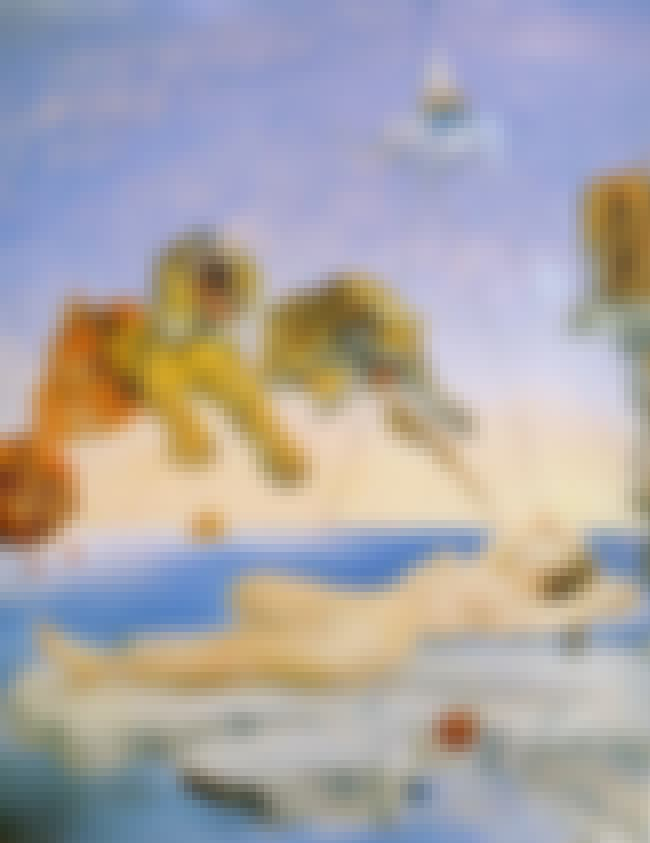 Dream Caused by the Flight of ... is listed (or ranked) 4 on the list Famous Surrealism Paintings