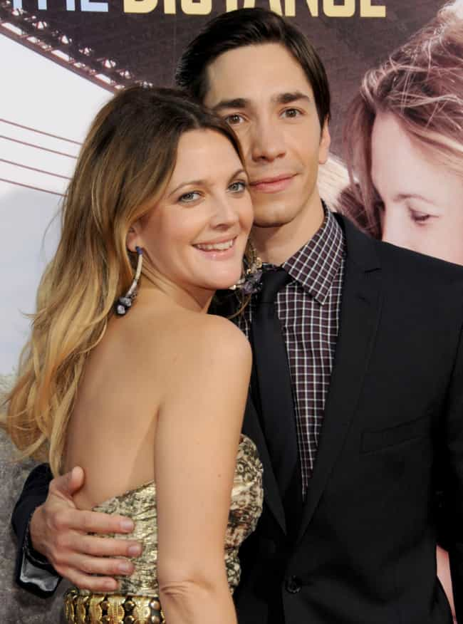 Drew Barrymore is listed (or ranked) 4 on the list Women Who Justin Long Has Dated