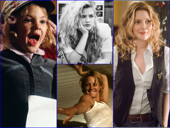 Drew Barrymore is listed (or ranked) 4 on the list The Greatest Hollywood Comebacks of All Time