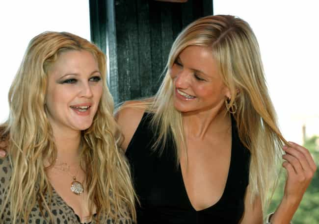 Drew Barrymore is listed (or ranked) 1 on the list Famous Friends of Cameron Diaz