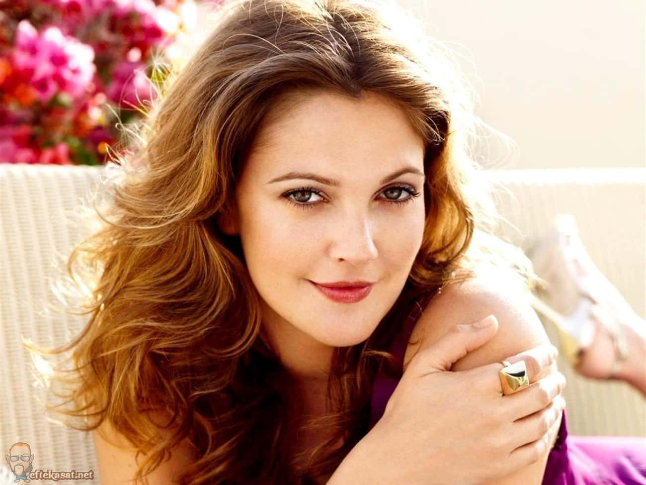 Drew Barrymore is listed (or ranked) 1 on the list Famous People With Lisps
