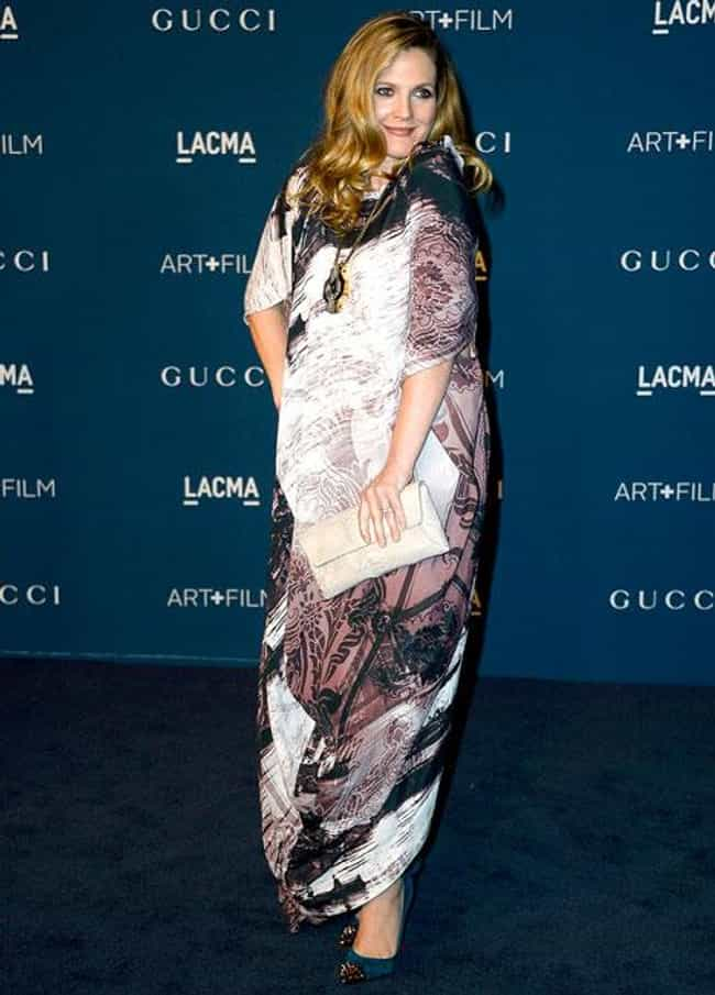 Drew Barrymore is listed (or ranked) 4 on the list Celebrity Pregnancies 2013