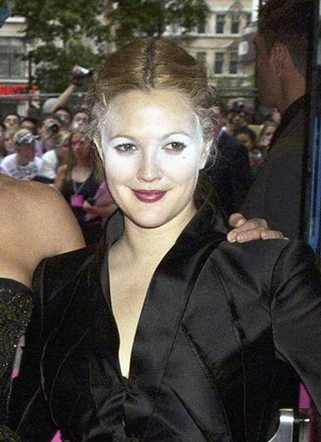 Drew Barrymore is listed (or ranked) 2 on the list The Worst Celebrity Makeup Fails