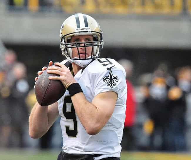Drew Brees is listed (or ranked) 4 on the list The Best NFL Players With The Most Pro Bowl Appearances